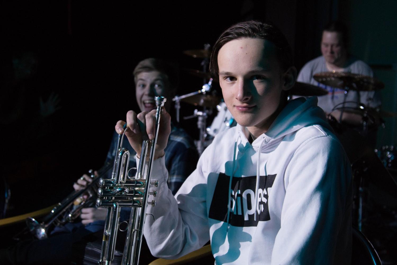 Gutt fra musikalbandet på Jungelboken ved Knuden - Kristiansand kulturskole