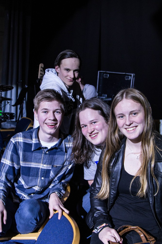 Musikalbandet på kulturskolen under produksjonen Jungelboken i 2018.