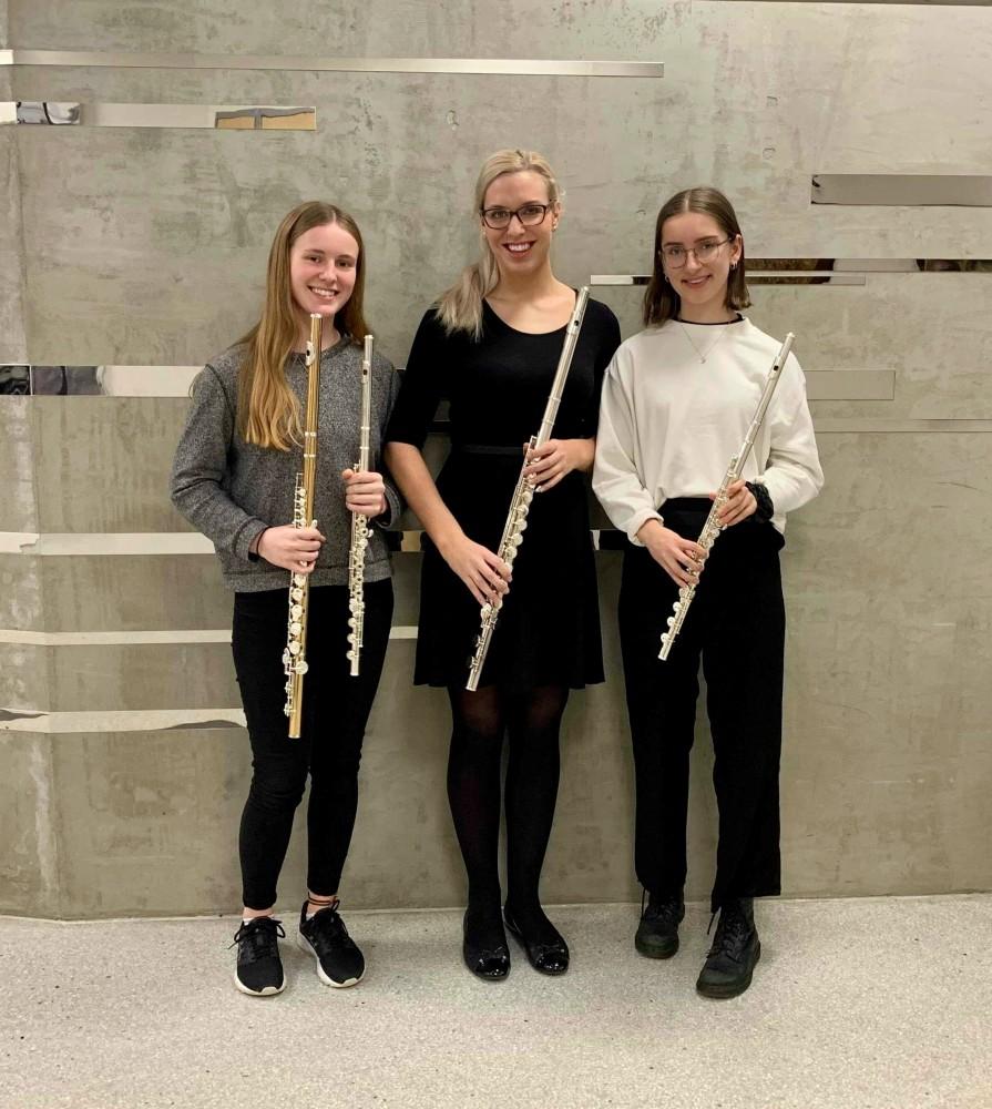 Fløytister ved kulturskolen i Kristiansand